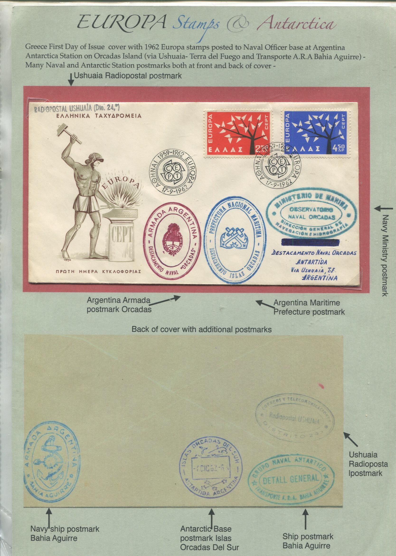 EUROPA and Antarctica