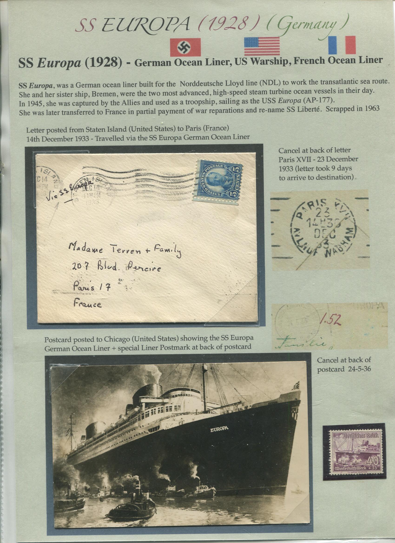 1928 SS EUROPA ship (part 1) – Germany