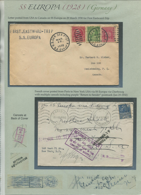 1928 SS Europa (part 2)